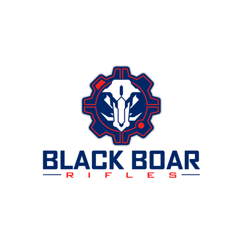 Logo design for Black Boar Rifles