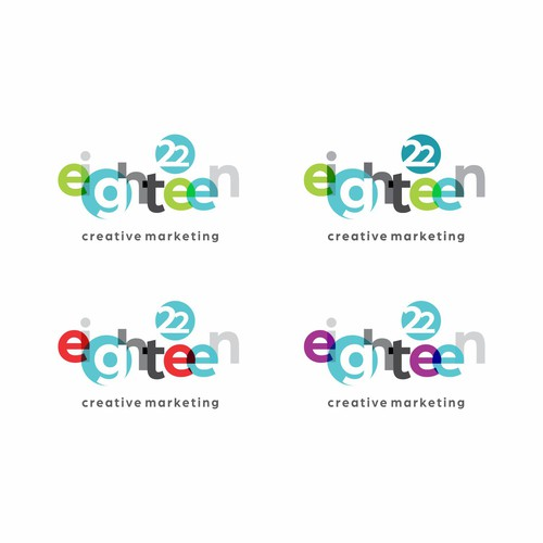 Logo for a fresh Creative Marketing Agency