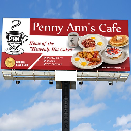 Penny Ann's Cafe Signage