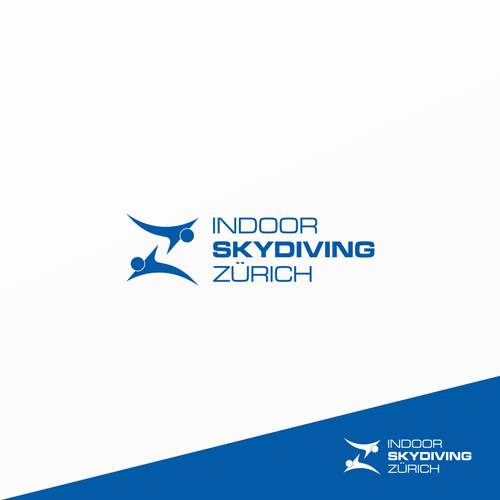 design win Indoor Skydiving Zurich logo