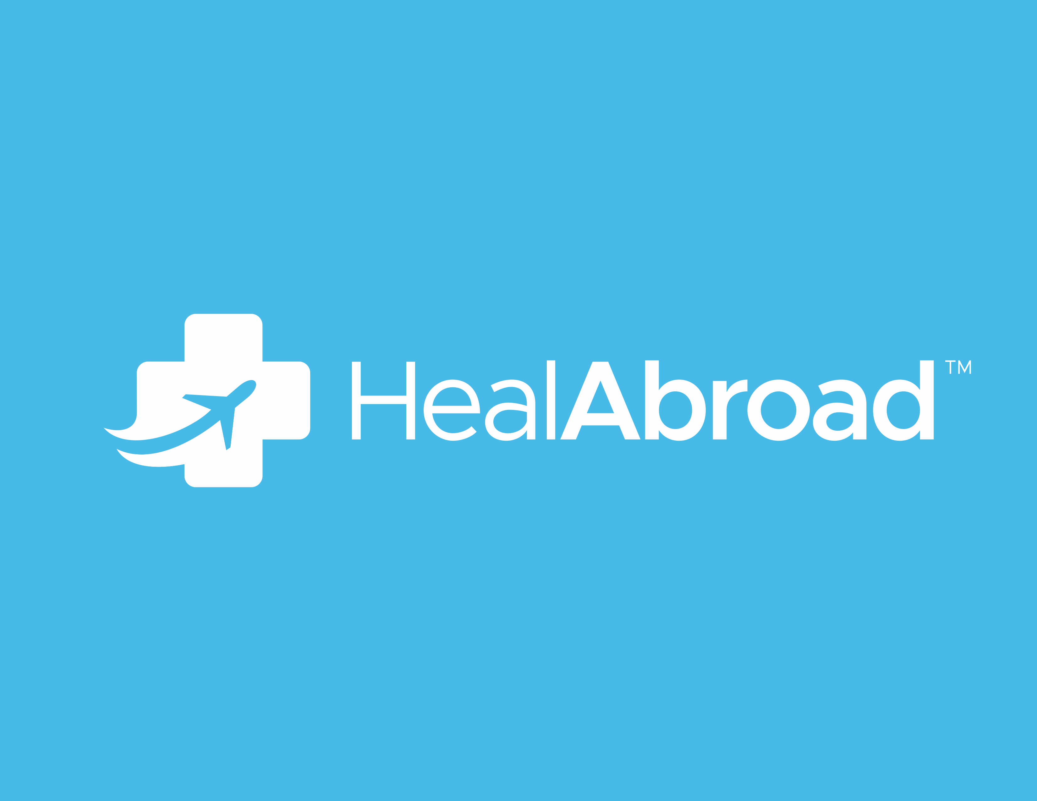 Design a simple, creative, and modern medical tourism logo