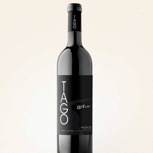 TAGO Authentic wine bottle design