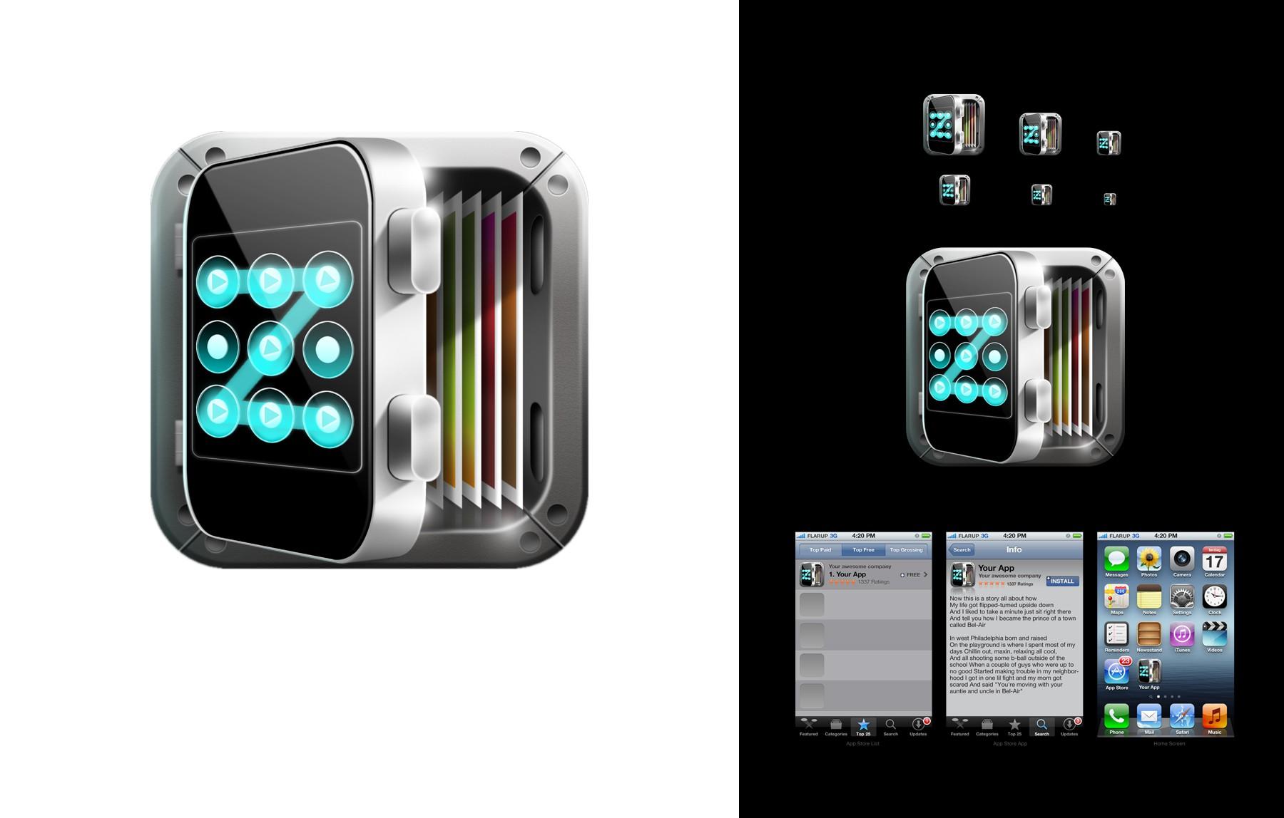 Photo Locker IOS App Needs Killer New Icon