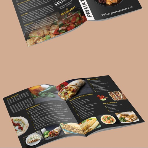Think Outside the Brochure! (Food Manufacturer)
