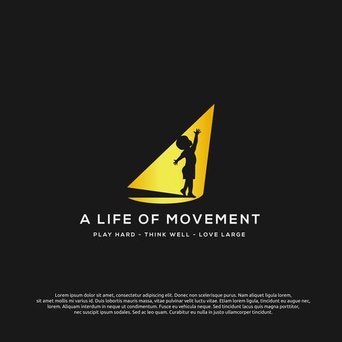 logo concept for movement