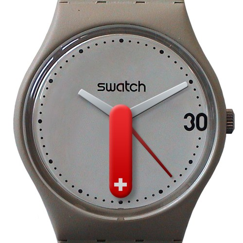 Community contest: SWATCH turned 30 and we celebrate this together with the launch of 99designs.ch