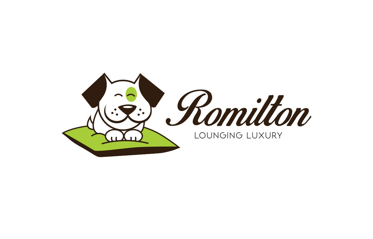Logo for pet product company making awesome and comfy dog beds!