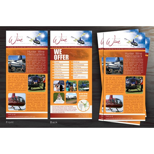 Hunter Winde Brochure Design