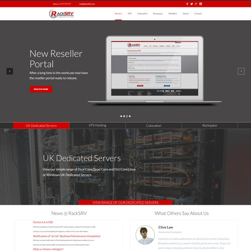 Website refresh to existing site with existing structure!