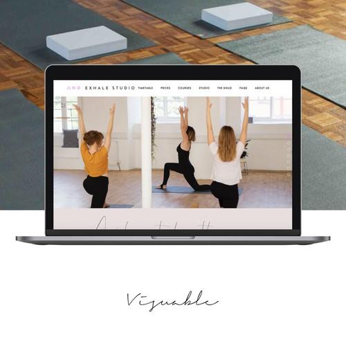 Website for a Yoga Teacher