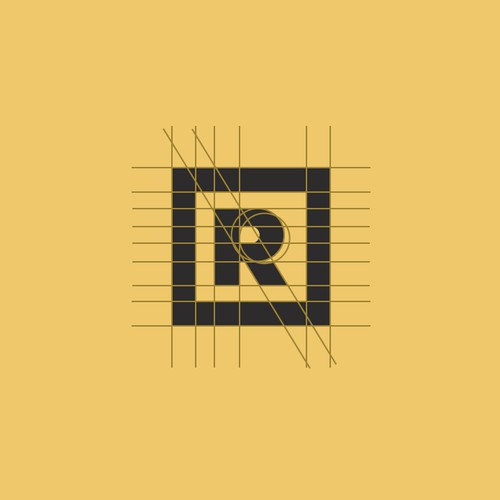 R: Logo / Type Design [Square Version]
