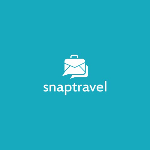 travel app logo design