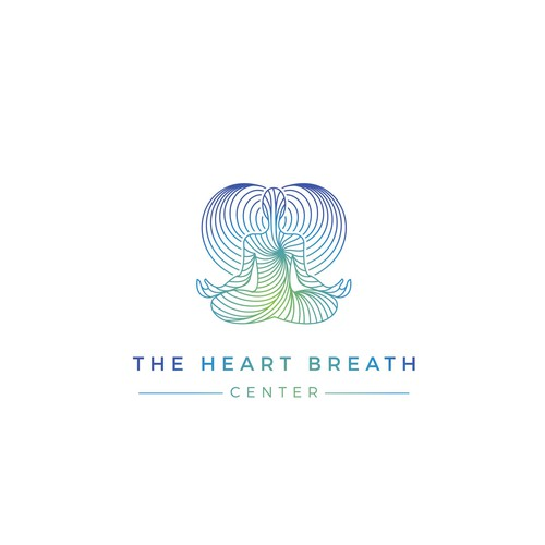 The heart breath center logo.