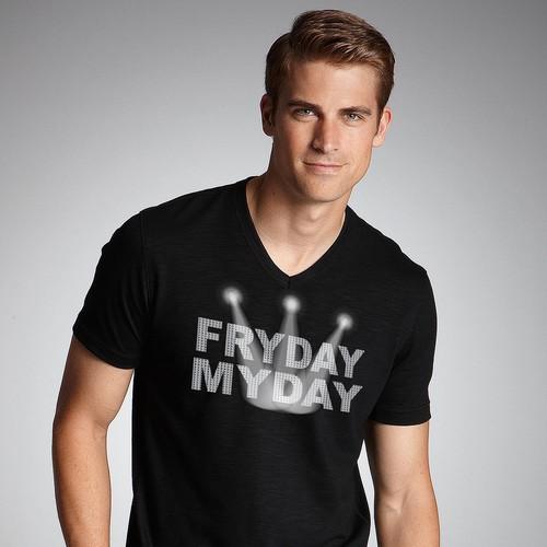 Contest T-shirt FRYDAY MYDAY
