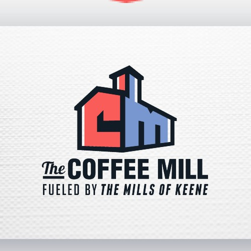 Unique Logo for the Coffee Mill