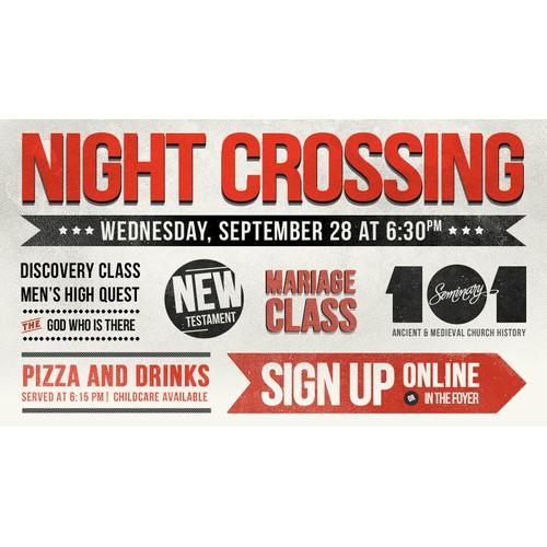 Night Crossing graphic