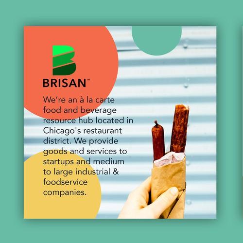 Design a Funky Food & Beverage Company Flyer