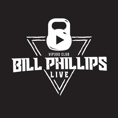 Bill Philips Live T-shirt design