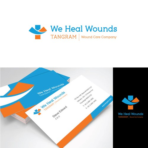 Help Tangram Wound Care Company with a new logo