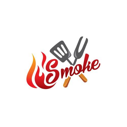 Smoke Barbque Concept