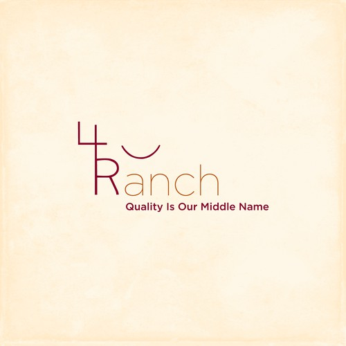 4R Ranch Logo Concept