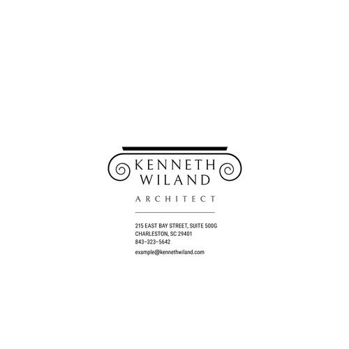 Logo for Kenneth Willan Architect
