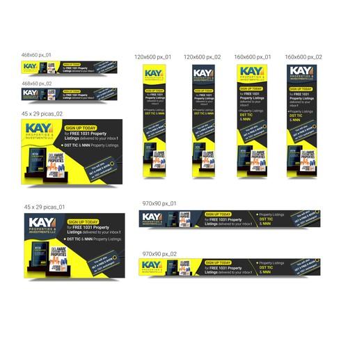 Kay Properties - Banner ad set