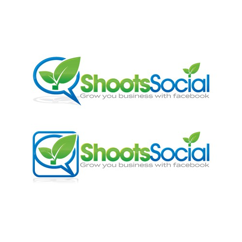 Shoots Social needs a new logo