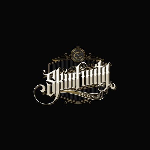 Skinfinity tattoo parlour logo design