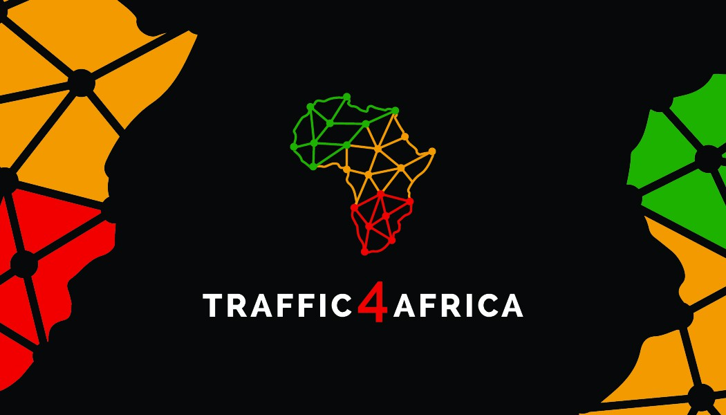 Design a business card for Traffic 4 Africa