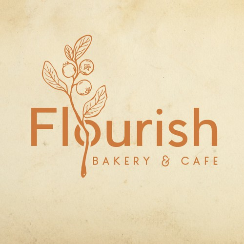 Logo for bakery & cafe