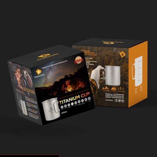 Titanium Cup box