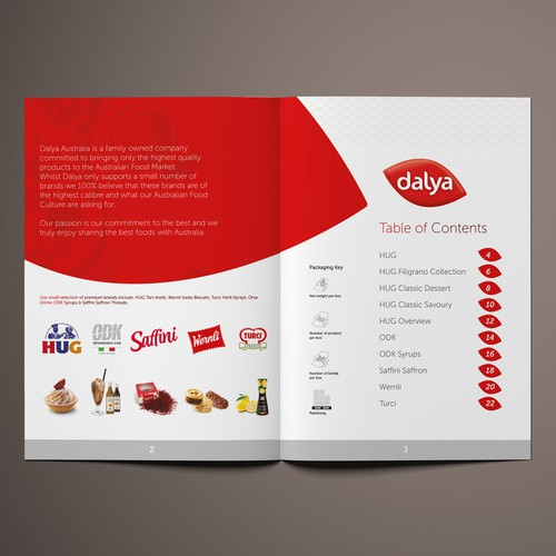 Dalya Product Catalogue