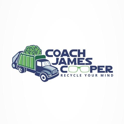 logo concept for Coach James Cooper