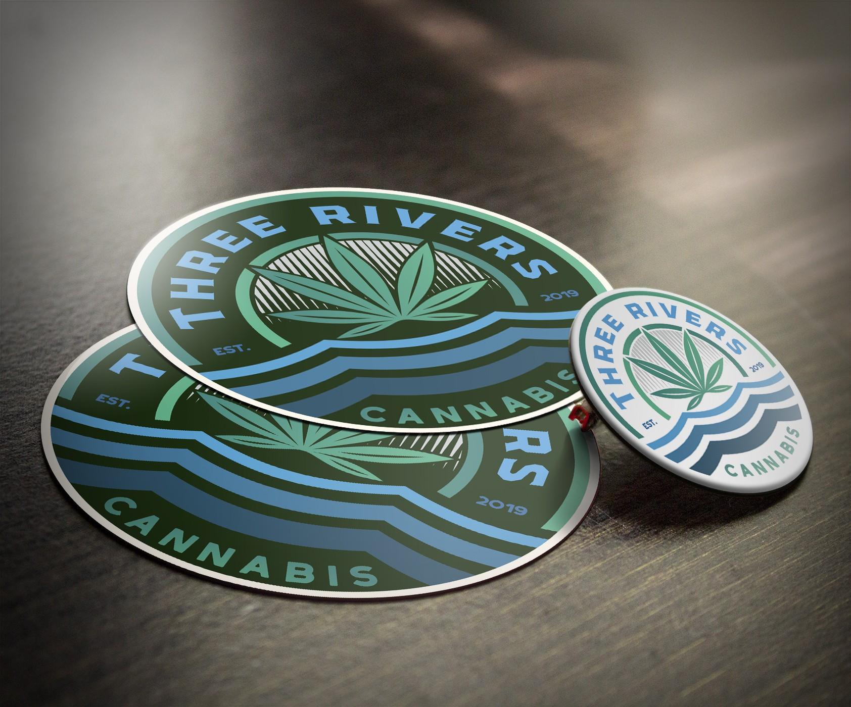 Weed Sticker marijuana company