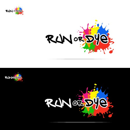 Help Run or Dye with a new logo