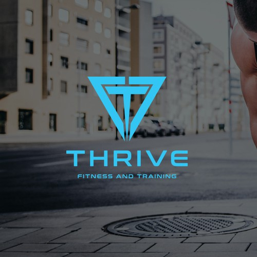 Logo for a personal trainer