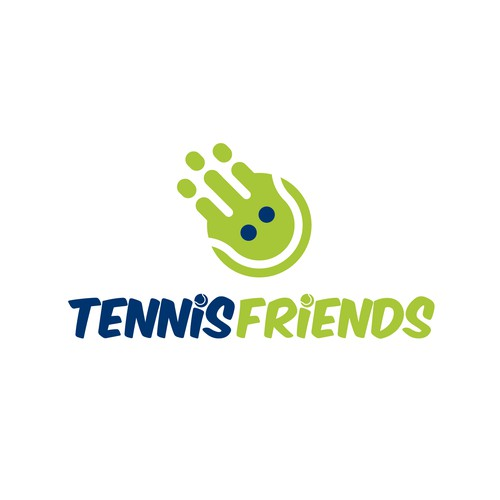Logo design for Tennis Friends