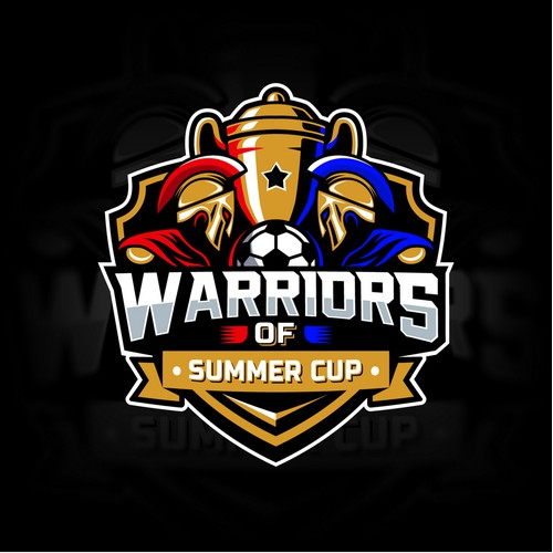 Warriors of Summer Cup logo design