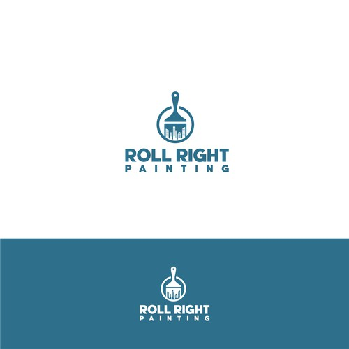 Winning logo for paint company