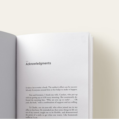 Typesetting & Interior book design, What's Your Problem?