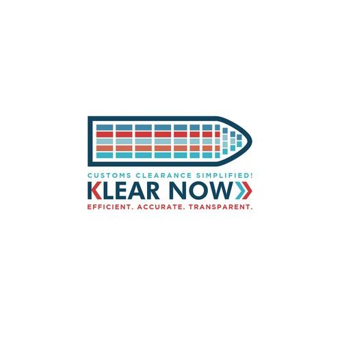 Klear Now Logo Concept