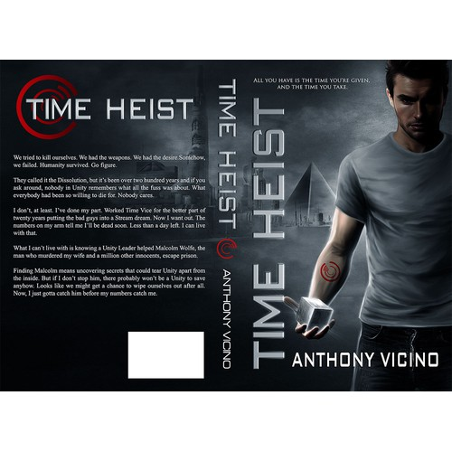 Create a Stunning Sci-Fi Cover for Time Heist!