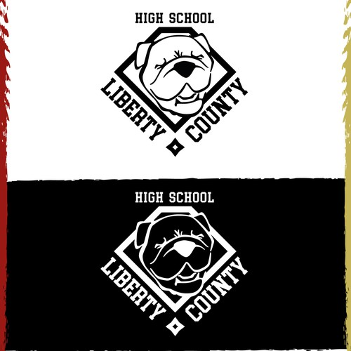 Libert County - High school logo design