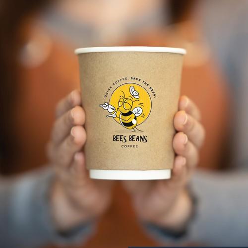 Branding & packaging 'bees beans'
