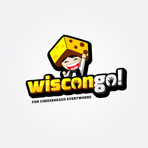 Bold logo concept for the new game Wiscongo!