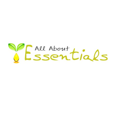 Create a fun, personable logo for a new blog about Essential Oils