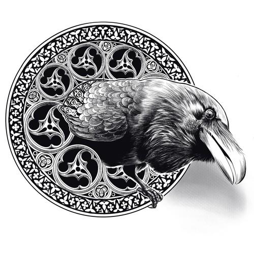Gothic raven