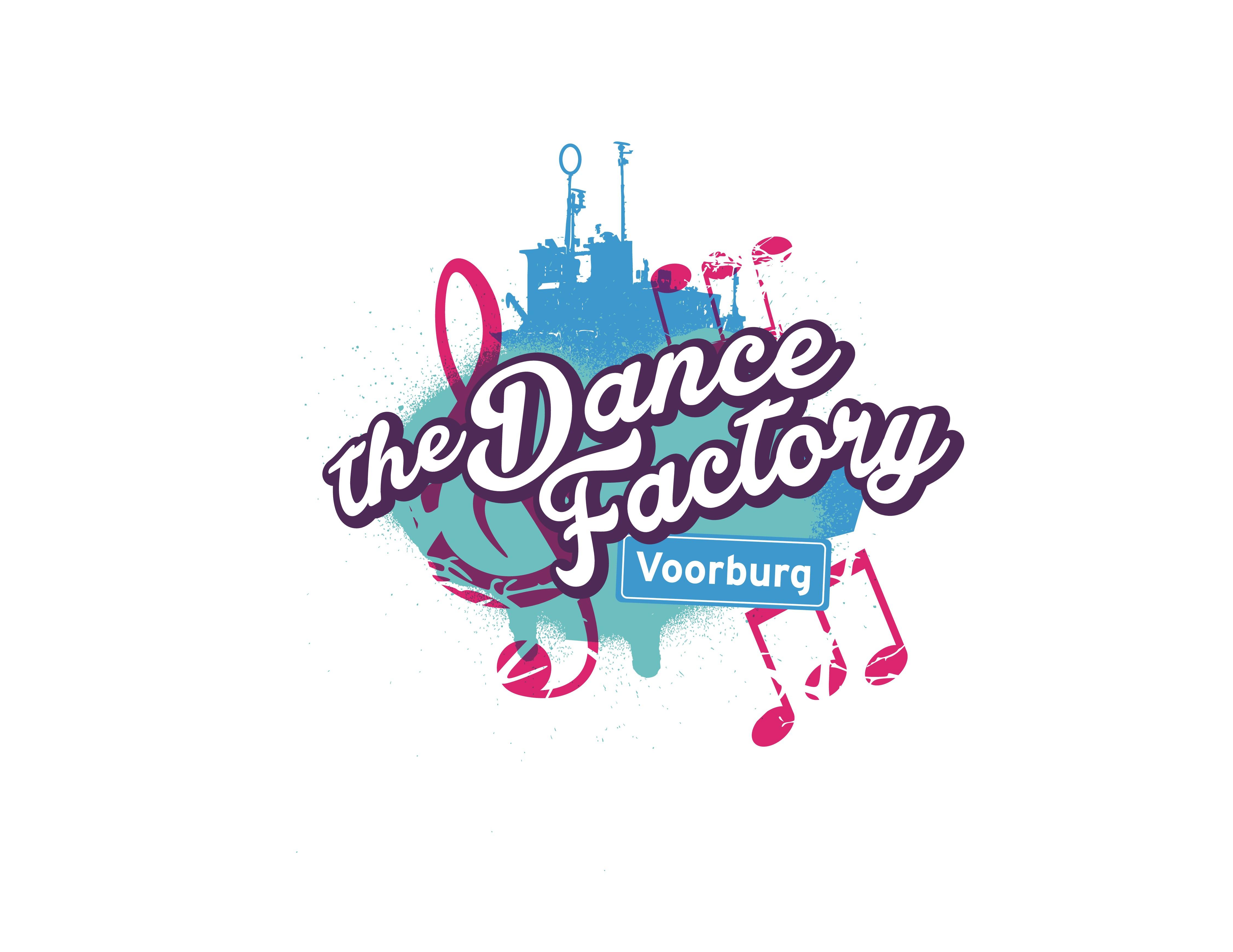 The dance factory Logo