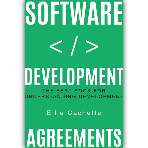 Book cover for software development.